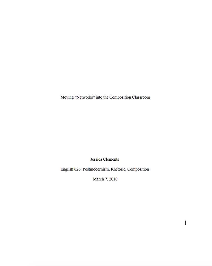 This Image Shows The Title Page Of A CMS Paper