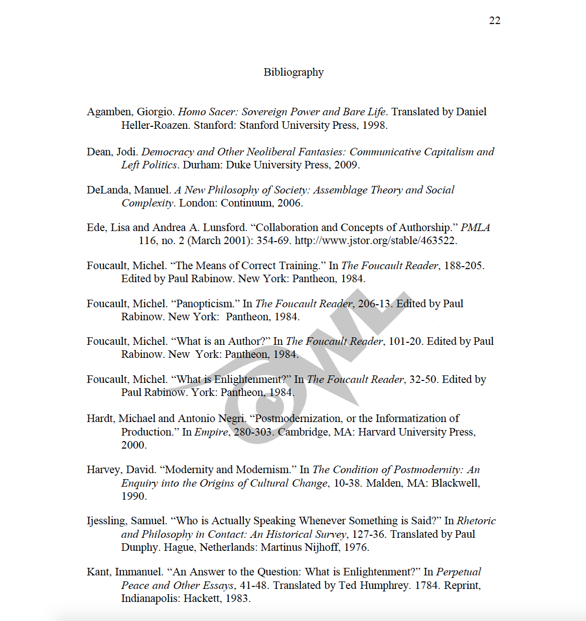 This image shows the bibliography page of a CMS paper.